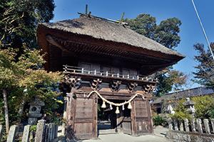 王宮神社 楼門